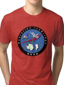 Nasa - Climate Change - Operation Ice Bridge Tri-blend T-Shirt