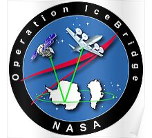 Nasa - Climate Change - Operation Ice Bridge Poster