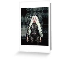 Lil' Kim Hip Hop Honors Greeting Card