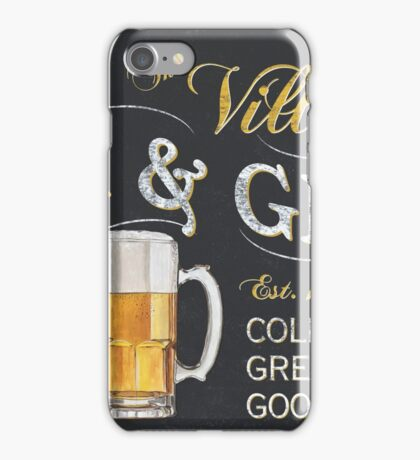 Bar and Grill iPhone Case/Skin