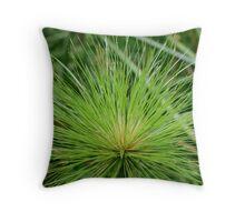 Papyrus plant Throw Pillow