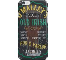 O'Malley's Irish Pub iPhone Case/Skin