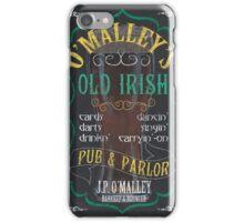 O'Malley's Irish Pub iPhone Case/Skin