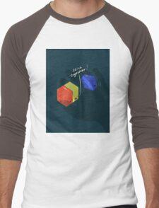 Stick Together  Men's Baseball ¾ T-Shirt