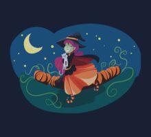Happy Witch w/Kitty Kids Tee