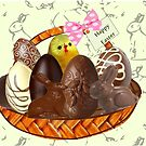 Chocolate Easter egg Card ( 2165  Views) by aldona
