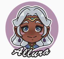 Voltron Legendary Defender Allura Chibi Kids Tee