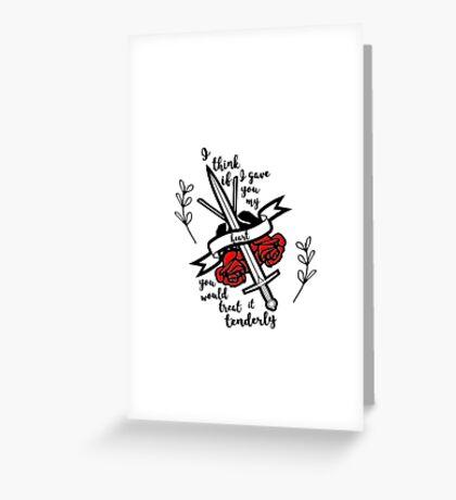 Kings Rising Quotes Greeting Card