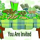 St Patrick's Day Menu: Invitation Card ( 1404 Views) by aldona