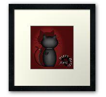 Heavy Metal Katz Framed Print