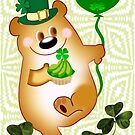Teddy With St. Patrick's Greeting (1435 Views) by aldona