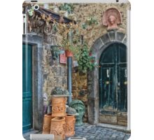 Bolsena Potter Shop   Italy iPad Case/Skin