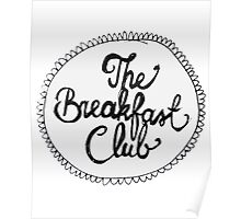 The Breakfast Club Circle Poster