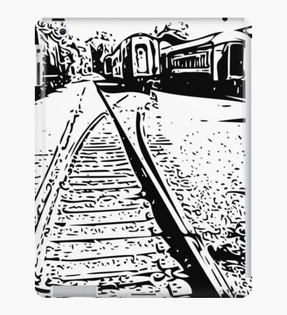 """train cars"" abstract iPhoneography iPad Case/Skin"