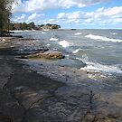 Southern Shore of Lake Erie, USA. by Billlee