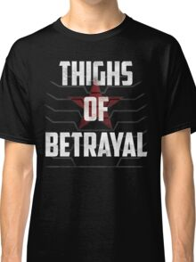 Thighs of Betrayal- The Winter Soldier Classic T-Shirt