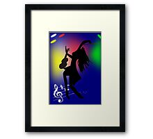 On Stage(2387 Views) Framed Print