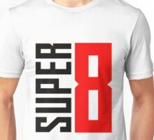 Super 8 Camera logo Unisex T-Shirt
