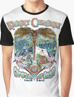 KENNY CHESNEY SPREAD THE LOVE TOUR 2016 Graphic T-Shirt