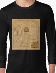 Map Of New Hampshire 1784 Long Sleeve T-Shirt