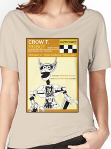 Crow T. Robot Owners Manual  Women's Relaxed Fit T-Shirt