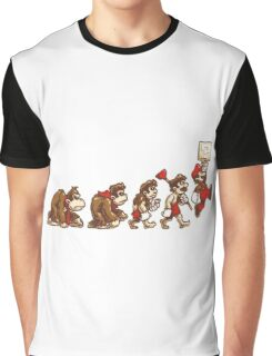 ~ DK To Mario Evolution ~ Graphic T-Shirt