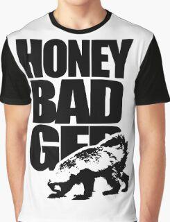 Honey Badger Graphic T-Shirt