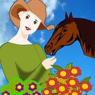 Love for Horses (2454 Views) by aldona