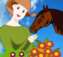 Love for Horses (2479 Views) by aldona