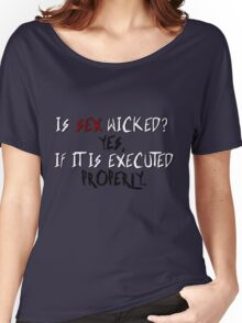 Wicked sex no. 2 Women's Relaxed Fit T-Shirt