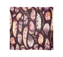 Boho Feather & Floral Pattern Scarf