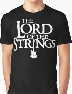 Lord of the Strings parody Graphic T-Shirt