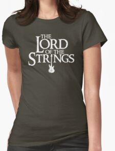 Lord of the Strings parody Womens Fitted T-Shirt