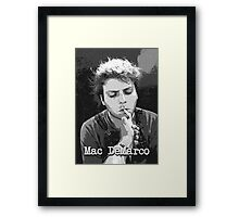 Mac DeMarco No.1 Framed Print