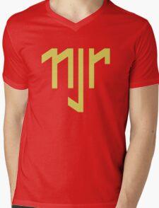 Neymar Brazil NJR Mens V-Neck T-Shirt
