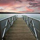 Sunset at Stewart Park by Jessica Jenney