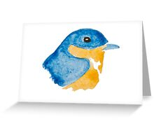 Bluebird Watercolor Greeting Card