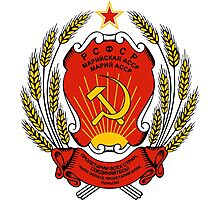 Coat of Arms of the Russian Soviet Federative Socialist Republic Photographic Print