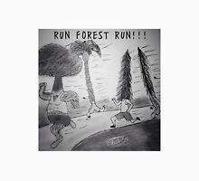 """PUN COMIC - """"RUN FOREST RUN!!!"""" Unisex T-Shirt"""