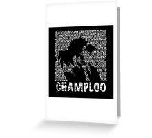 Samurai Champloo - BATTLECRY Greeting Card
