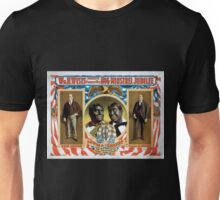 Performing Arts Posters Wm H Wests Big Minstrel Jubilee formerly of Primrose West 1761 Unisex T-Shirt