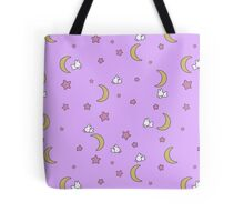 Sailor Moon inspired Bunny of the Moon Bedspread Blanket Print Tote Bag