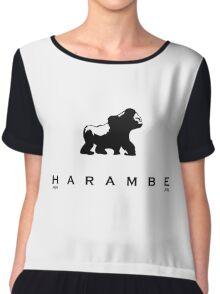 HARAMBE 1999-2016 Chiffon Top
