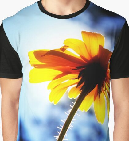 Some Kind of Sunflower Graphic T-Shirt