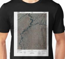 USGS TOPO Map Arizona AZ Mexican Water 20110317 TM Unisex T-Shirt
