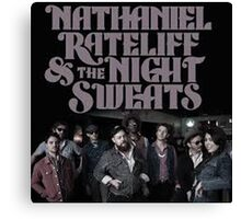 NATHANAEL RATELIFF & THE NIGHT SWEATS SOB Canvas Print