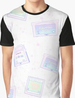 Pastel Cartridges Graphic T-Shirt