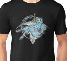 Jil Renegade Merchant pin-up - distressed (for dark background) Unisex T-Shirt