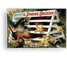Performing Arts Posters Seldens funny farce A spring chicken 1018 Canvas Print