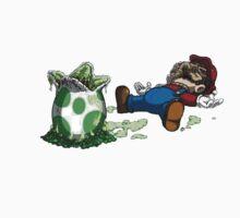 ~ Mario & Yoshi ~ One Piece - Short Sleeve